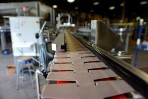 "Dyco Aluminum Modular ""Red Line"" Table Top Conveyor"