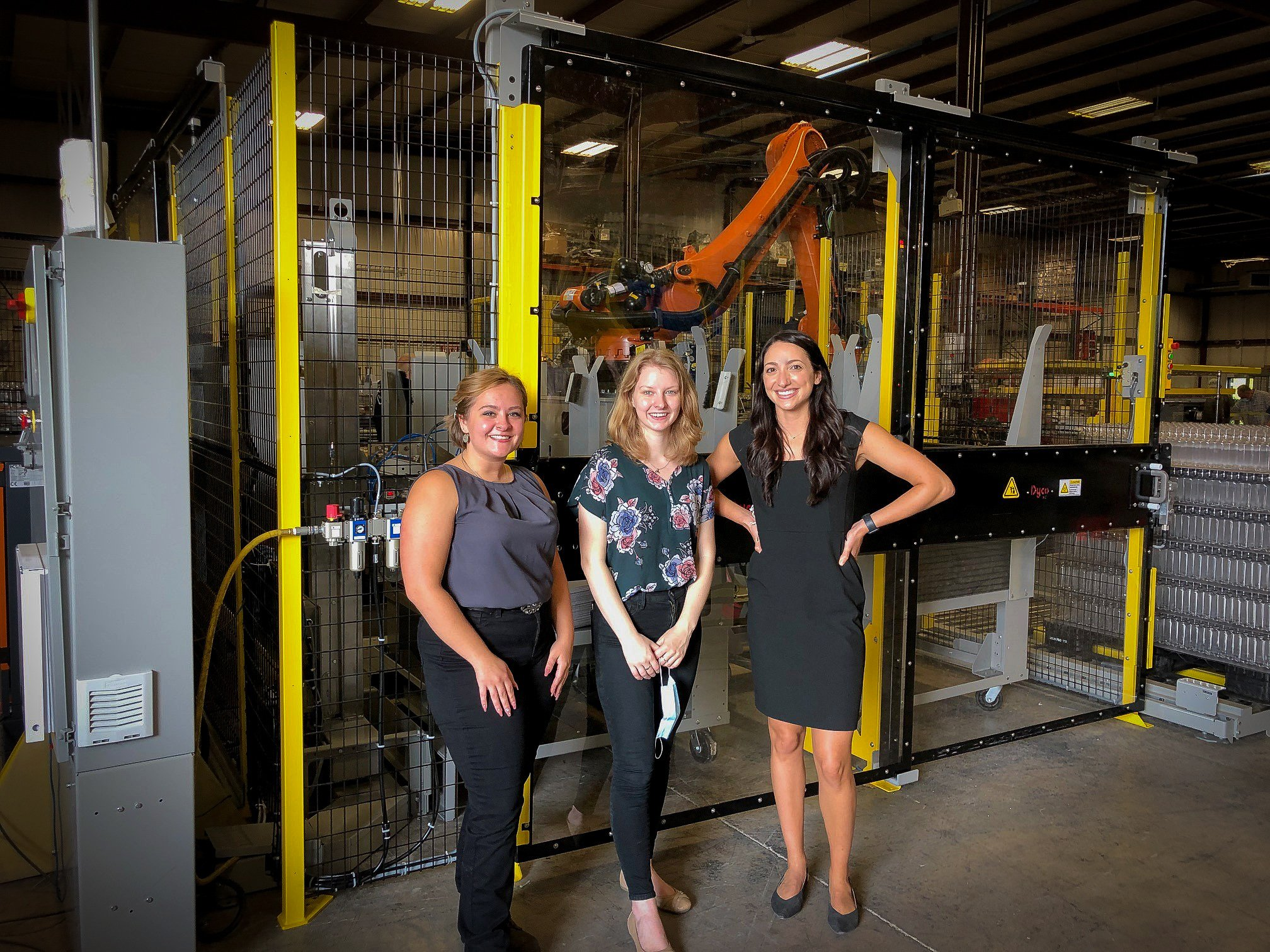 From left: Susan Cook, Applications Engineer; Caitlin Kalsbeek, Applications Engineer; Janelle Holloman, Asst. Engineering Manager