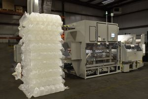 Dyco's Model 3710 Automatic Bottle Bagger