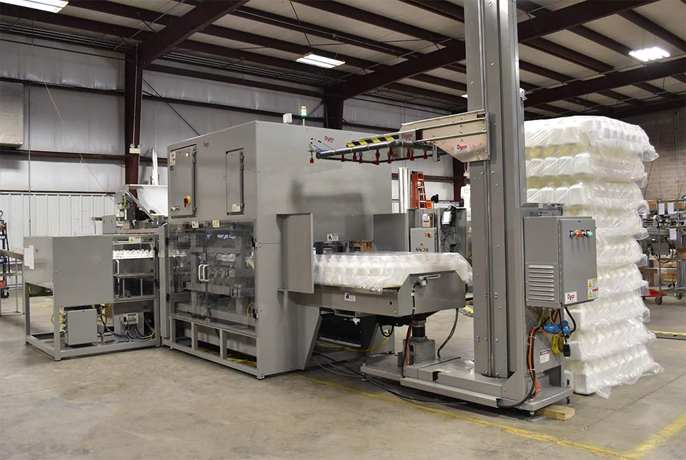 Dyco Model 3712 Automatic Bottle Bagger