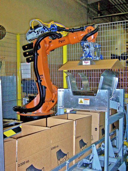 Robotic Partition Inserting