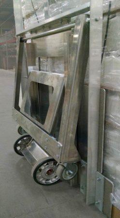 Bundle Cart with Wheelie Bar - folded